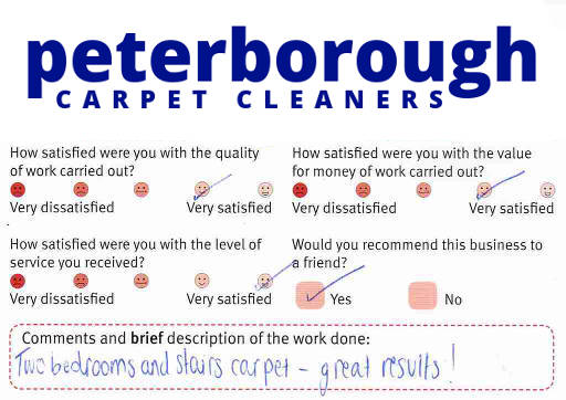 Peterborough Carpet Cleaners review 20190112