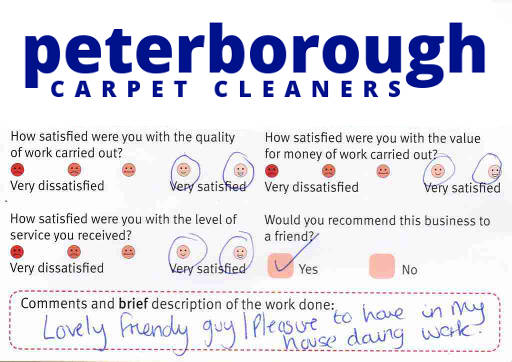 Peterborough Carpet Cleaners review 20190121