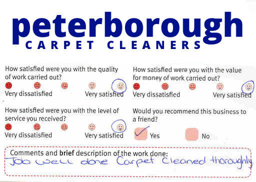 Peterborough Carpet Cleaners review 20190212