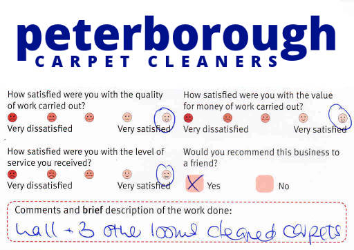 Peterborough Carpet Cleaners review 20190215